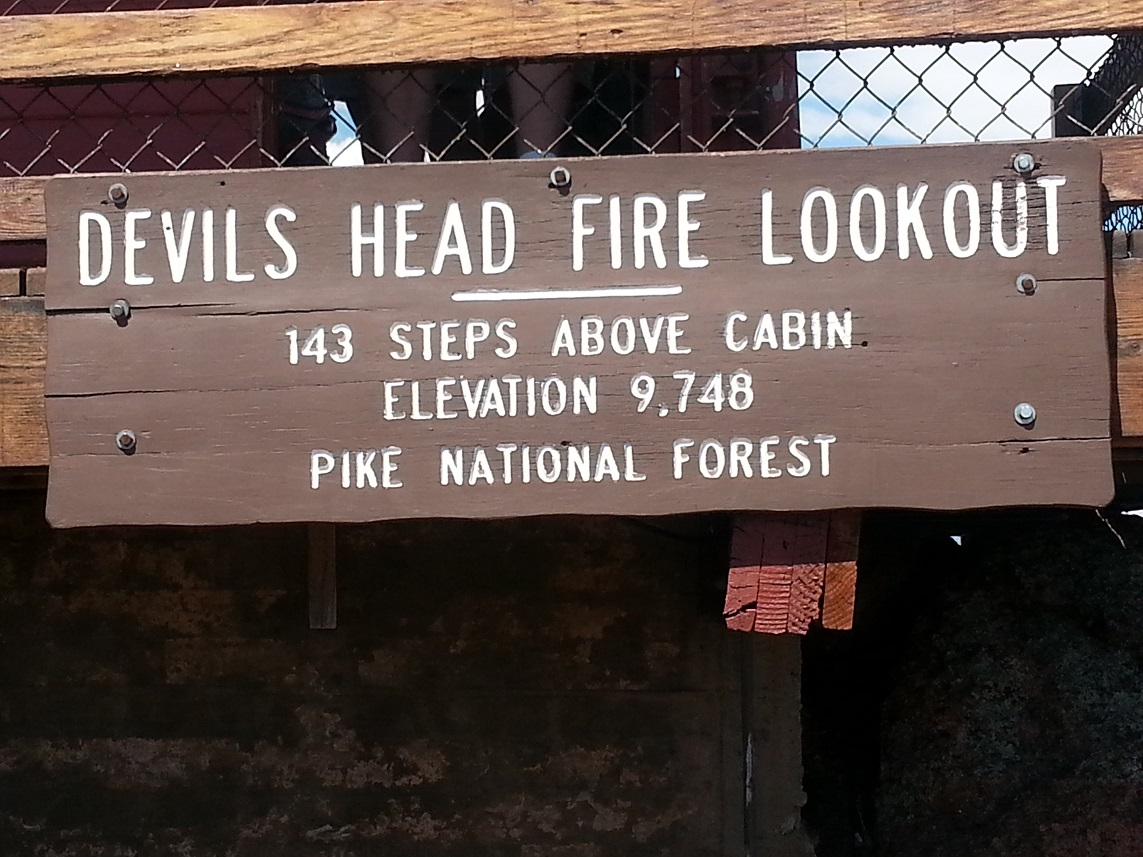 Devils Head Lookout details
